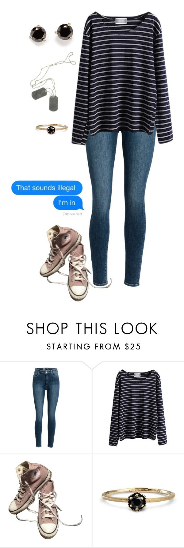 """That sounds illegal"" by dreams-of-a-samurai ❤ liked on Polyvore featuring WithChic, Converse, Satomi Kawakita and Kate Spade"