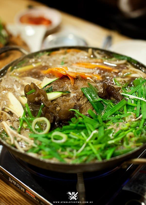 #Bulgolgi Jeongol (#불고기 전골) Korean beef hot pot #Korean Food