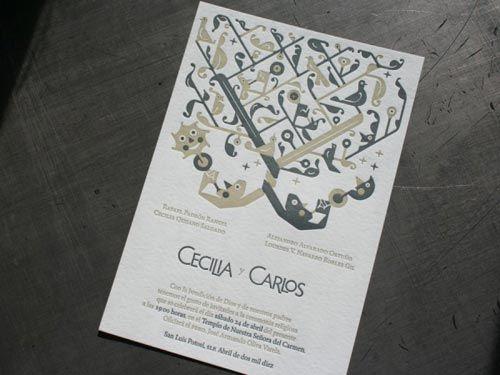 47 best invitaciones de boda images on pinterest invites traditional mexican wedding exotic wedding invitation in traditional mexican design style stopboris Images