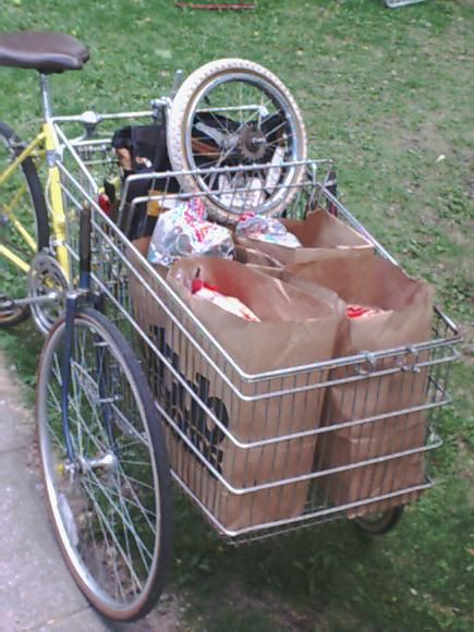 How to Build a Cartbike