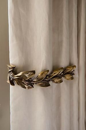 Rose Uniacke - Shop - Leaf & Berry Curtain Ties