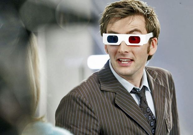 It's official!  Tennant and Piper will return for the- get this- *3D* 50th anniversary Doctor Who special!