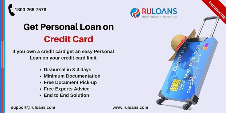 Need a #PersonalLoan? Now get a personal loan on credit card at lowest interest rates. For more details visit - https://www.ruloans.com/personal-loan/new-personal-loan