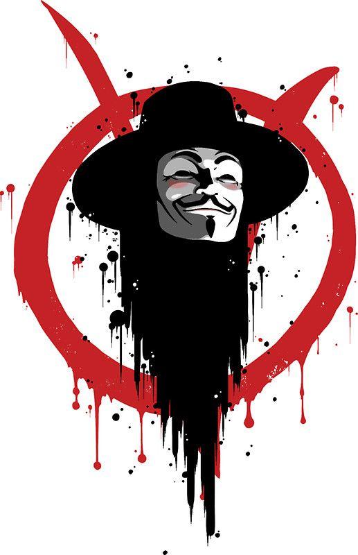 V for Vendetta Ink by crabro