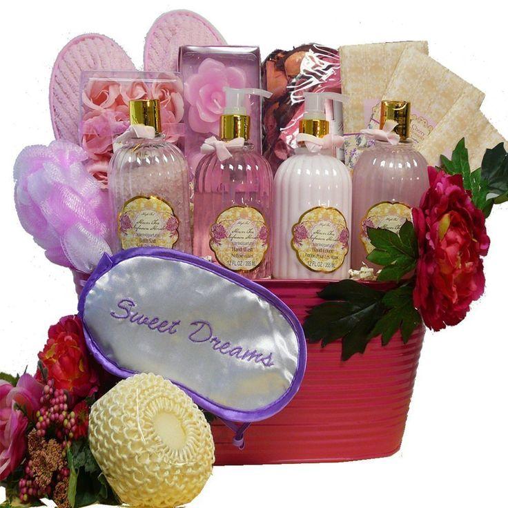Art of Appreciation Sweet Dreams Spa Bath and Body Gift Basket …