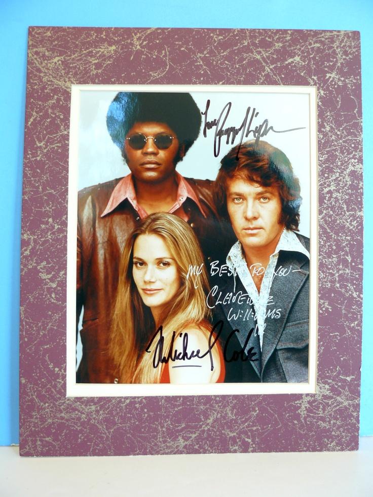 Mod Squad 8x10 Autographed Photo Peggy Lipton Mike Cole Clarence Williams III | eBay