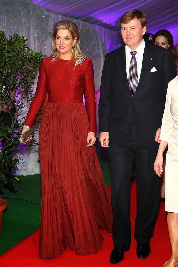 King Willem-Alexander and Queen Maxima in Germany King Willem-Alexander and Queen Maxima attended the German Media Award in Baden-Baden