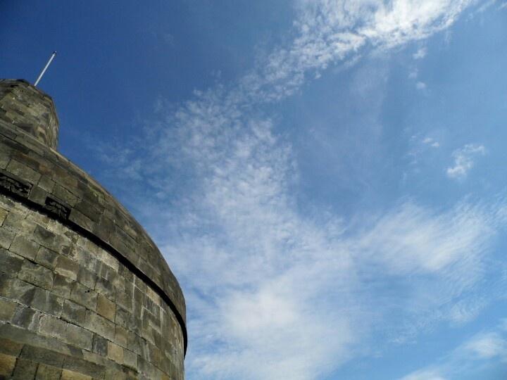 The sky upon Mahadatu, Borobudur....