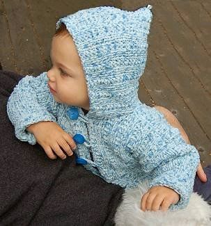 Chunky Knit Baby Cardigan Pattern Free : 1000+ images about baby sweaters #5 yarn on Pinterest Drops design, Ravelry...