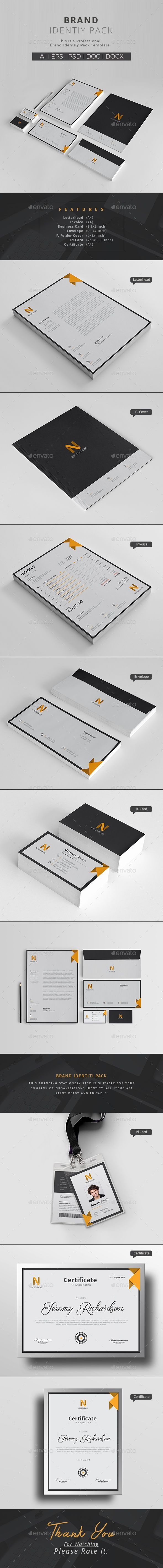 Corporate PSD Identity Template • Only available here ➝ http://graphicriver.net/item/corporate-identity/16603914?ref=pxcr #CorporateBranding