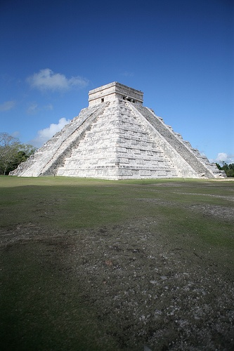 Chichen Itza, Mexico - One of the 7 new wonders of the world #RogersWinterWhites
