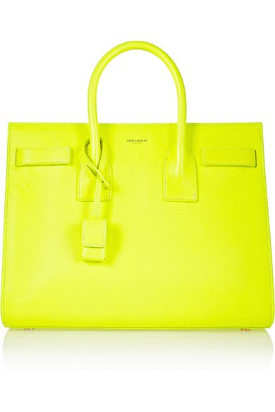 Because every girl needs a neon SL tote