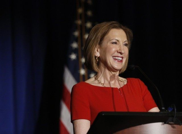 Unlike Hillary Clinton, Carly Fiorina Welcomes Tough Questions from Media, Public.