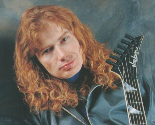 Dave Mustaine (June,2001,Young Guitar)