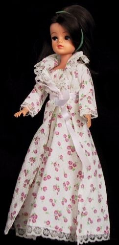 Sindy Dolls by Pedigree dressed in good morning- mine was blonde.