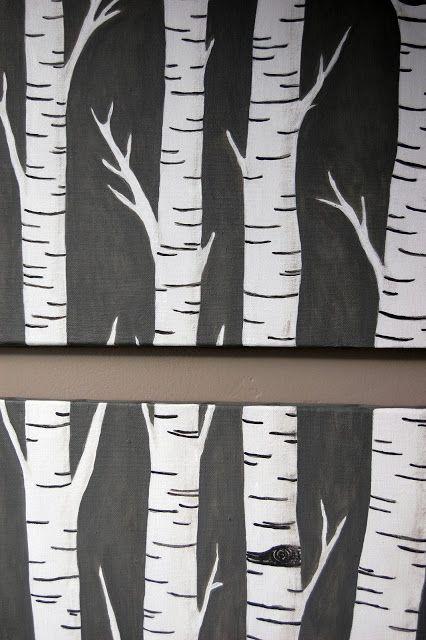 the audzipan anthology: Birch Trees Art