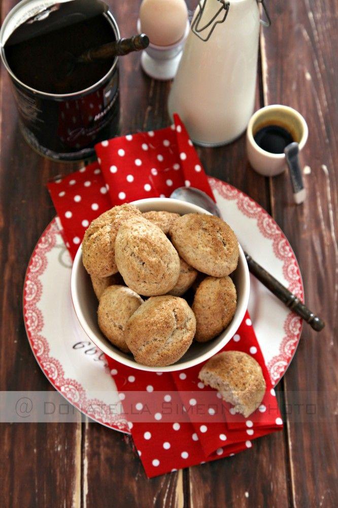 Biscotti integrali da inzuppo, senza burro uova e latte