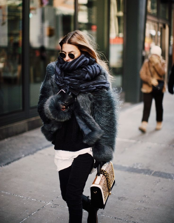 Invest in a Fur Coat This Winter, it is the Perfect Piece to Complete a Layered Look