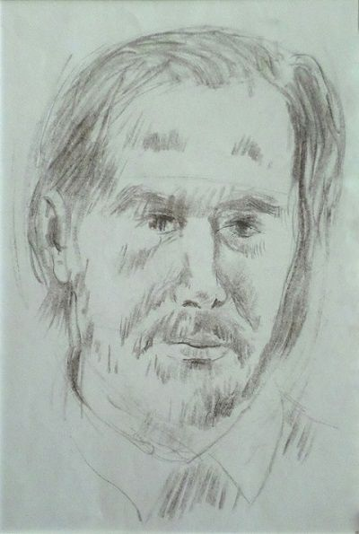 Férfi portré H.Gy.