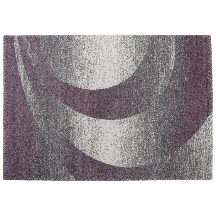 Cam of America Vision Rectangular Purple Geometric Accent Rug - Lowe's Canada