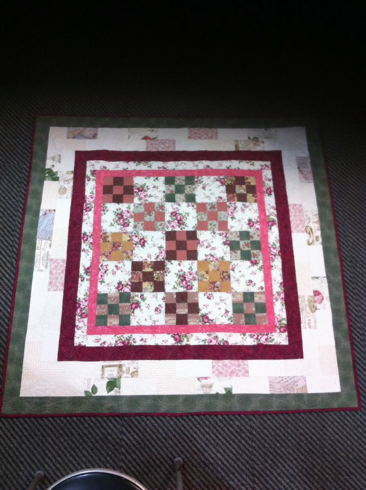 My latest quilt for my lounge