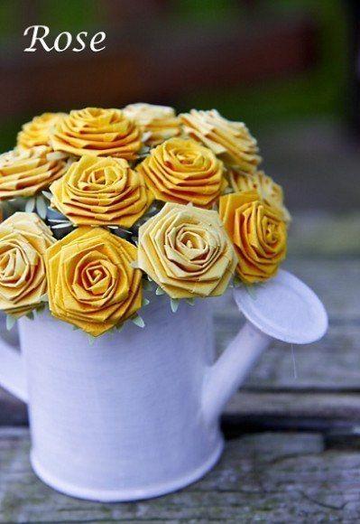 Цветы из бумаги. – christattoo  http://christattoo.mmm-tasty.ru/entries/10883425