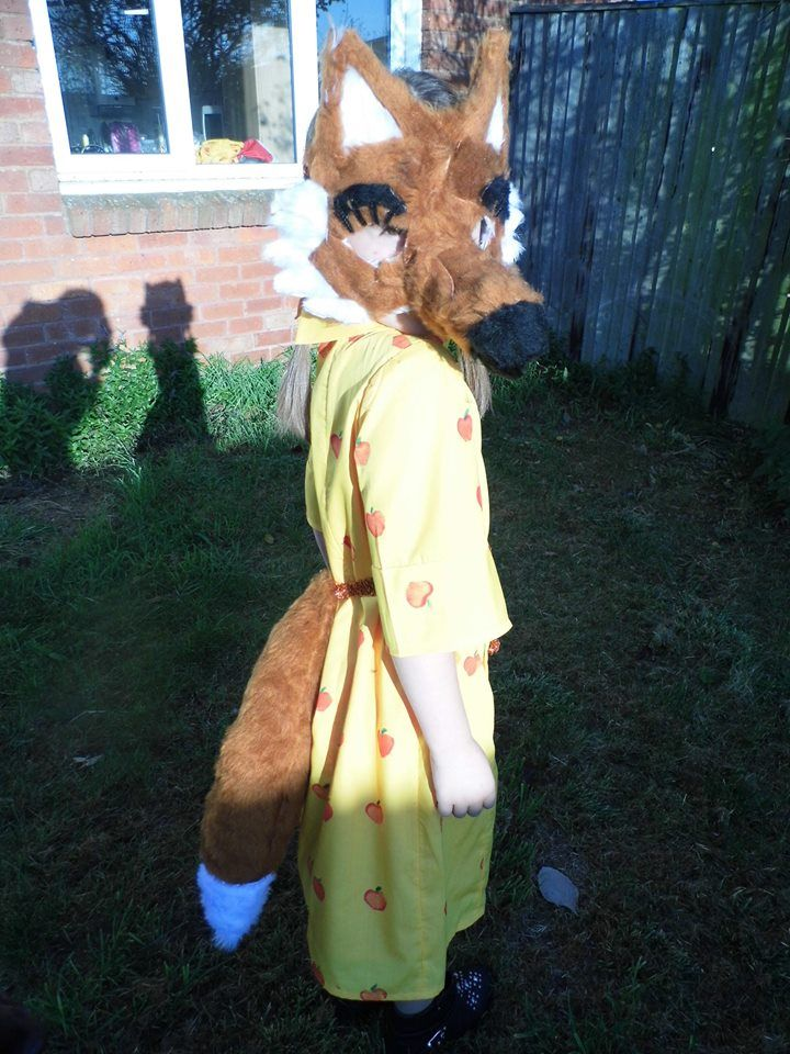 My version of Mrs Fox from Fantastic Mr Fox :)
