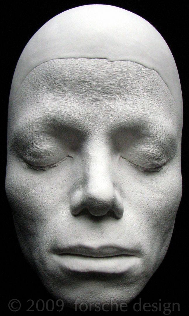 Michael Jackson Life Mask Front