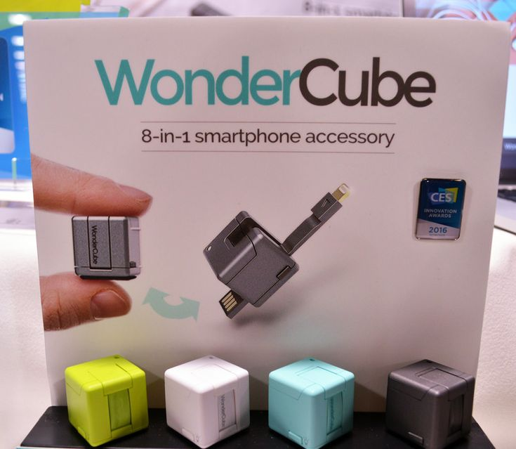 WonderCube smartphone accessory                                                                                                                                                                                 More
