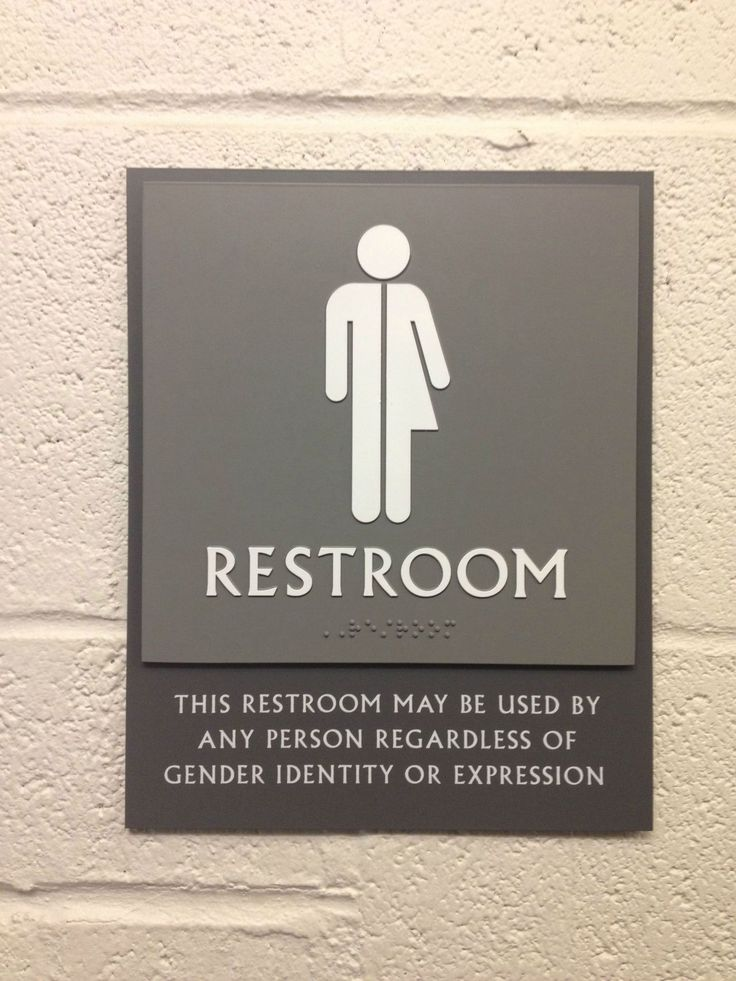 572 Best Funny Restroom Signs Colection Images On
