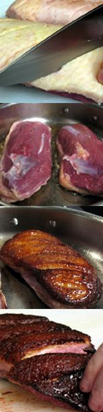 Easy Peasy Duck Breast Recipe... For when I actually get to go hunting!