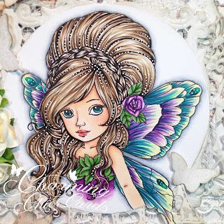 Charming Chic Cards: Always leave room in the garden for the Fairies to dance!