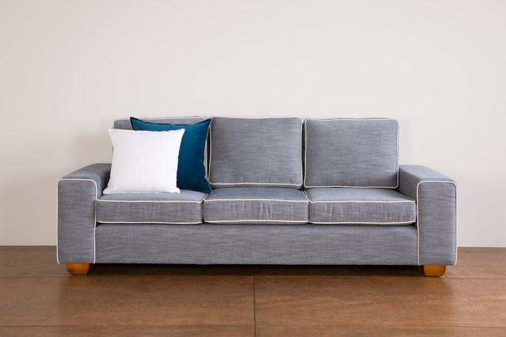 The cute Soho Sofa. Can be made as a sofa or modular.