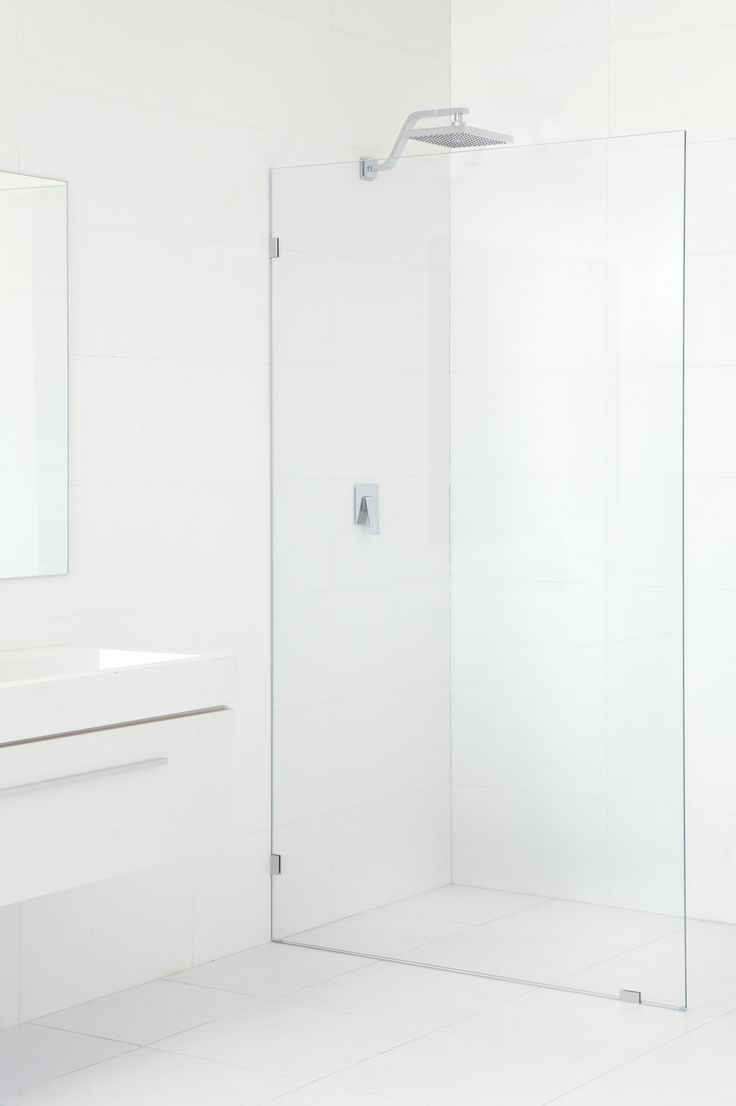 Shower Panel Kit Frameless 10x2000x1175mm Tf Glass Panel - Bunnings Warehouse