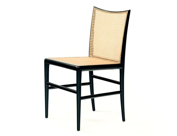 Cadeira Palhinha - Branco e Preto