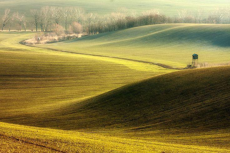 Hypnotizing Beauty Of Moravian Fields In The Chech Republic | Bored Panda