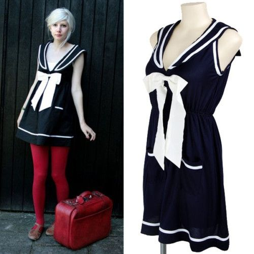 Top 25 ideas about Nautical Cocktail Dresses on Pinterest