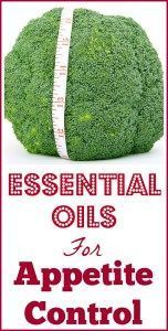 Essential oils make you lose weight