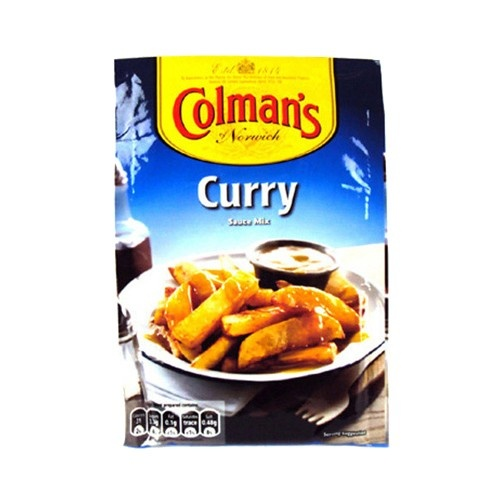 Colmans Curry Sauce is a unique blend of spices to add a curry style ...