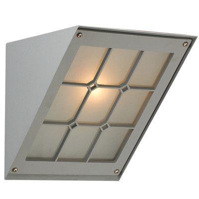 PLC Lighting Bremen 1 Light Outdoor Flush Mount Finish: Silver