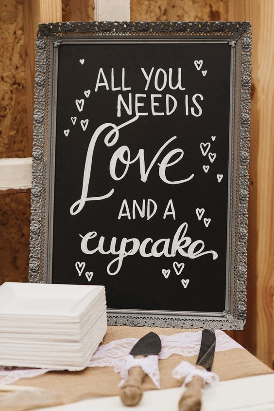 dessert table sign / http://www.deerpearlflowers.com/30-rustic-wedding-signs-ideas-for-weddings/