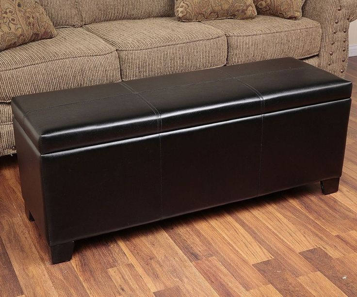 Hunting Gear Storage Bench With Cushion Gun Concealment Furniture Solutions  New