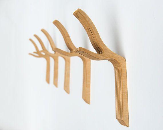 Modern Twig Coat Hook  Twiggy series Large by StudioLiscious, $25.00