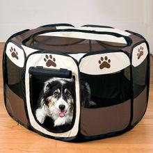 2017 HOT SALE Produtos Portador de Bebê Conforto Animal de Estimação do Filhote de Cachorro Do Cão Casa cama Canil Cercadinho cerca para cães gatos Exercício Oxford pano(China (Mainland))