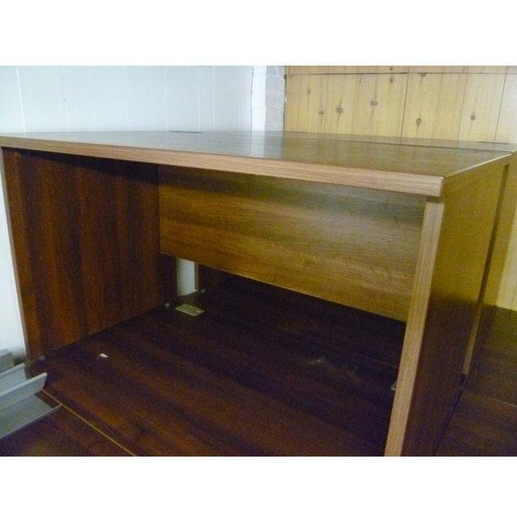 Second Hand Walnut Office Desk