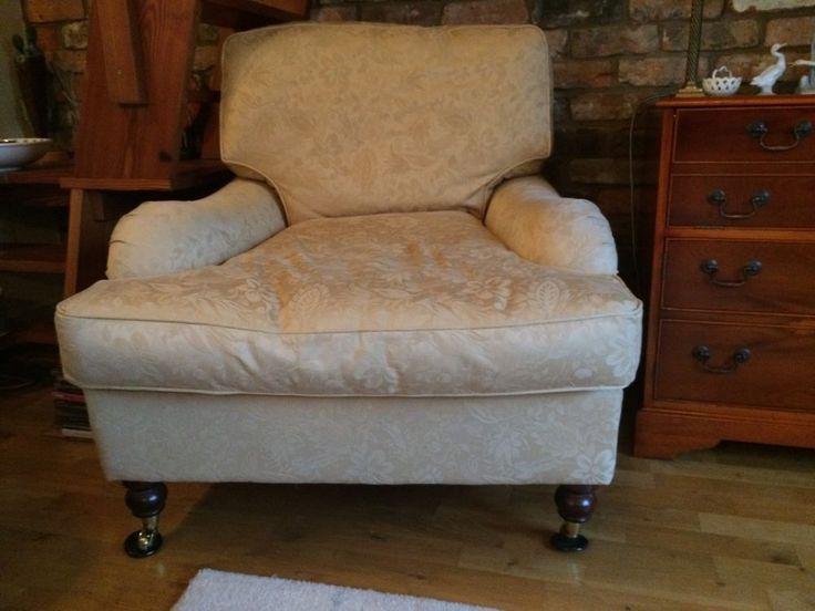 Laura Ashley Gold Coloured Armchair