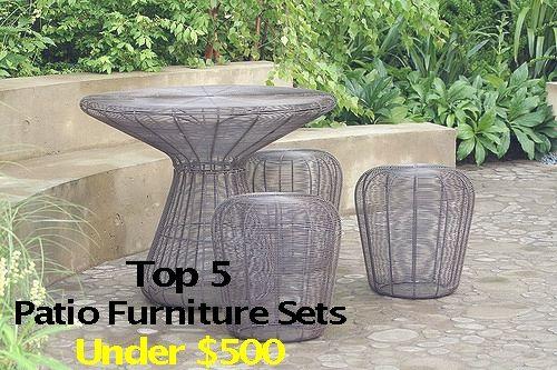 Top 5 Furniture Sets Under $500