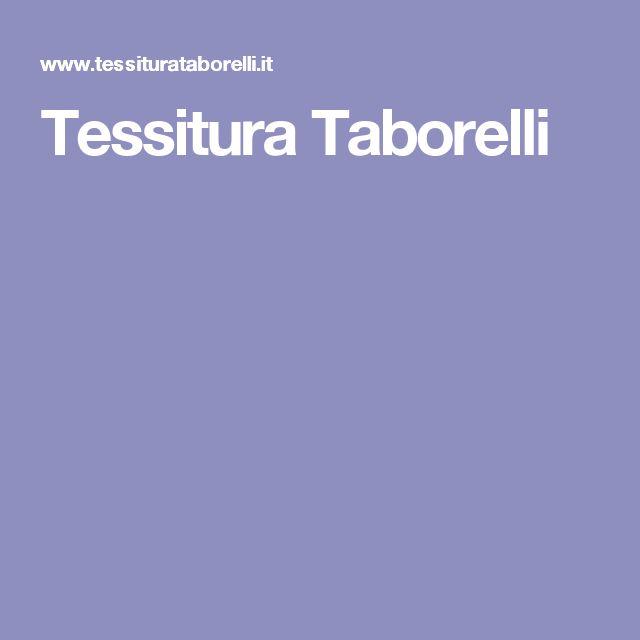 Tessitura Taborelli