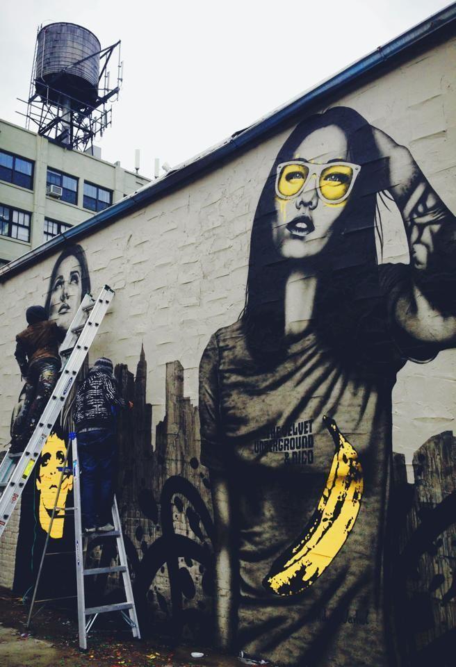 De 25 bedste id er inden for fin kunst p pinterest for Mural street art