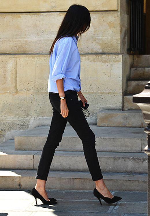 VOGUEといえば「プラダを着た悪魔」のアナ・ウィンターが有名ですが、実は2011年から仏版ヴォーグ編集長になったエマニュエル・アルト(Emmanuelle Alt)のファッションが洗練されていて素敵なんです♡